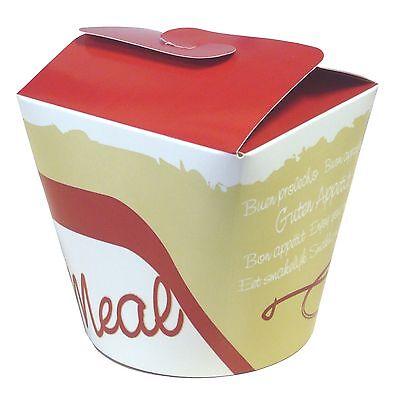 Fingerfoodbox / Gyrosbox / Dönerbox / Asiabox / Foodbox, 500 Stück, 16oz, 450ml