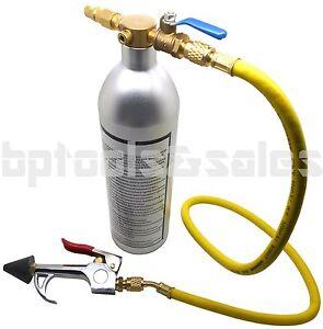 R134 R12 R22 R410 R404 A/C AC Air Conditioner System Flush Canister Gun Kit
