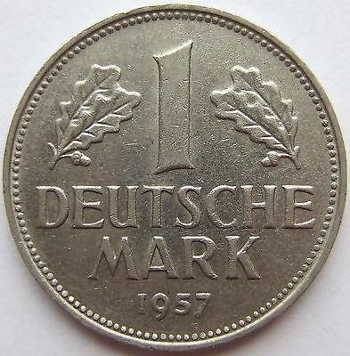TOP! 1 DM 1957 G in VORZÜGLICH+++ SELTEN !!!