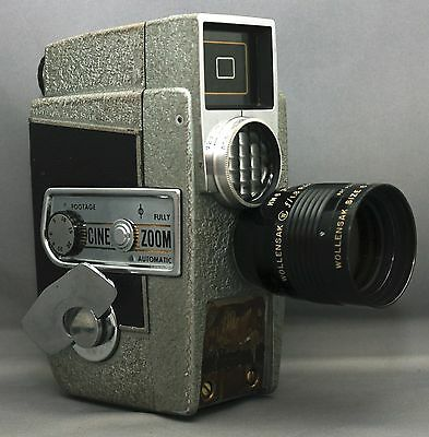 REVERE EIGHT 8 Model CA-8 Vintage Movie 8mm Film Camera USA CLEAN!