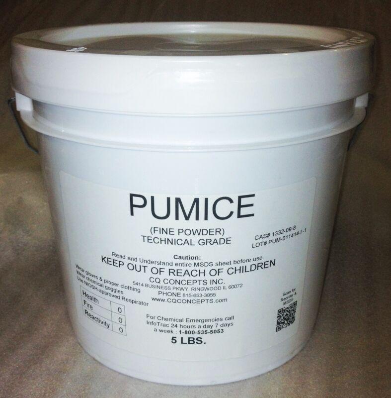 Pumice FFFF Grade Powder 5 pounds Wood Polishing and Art Grade