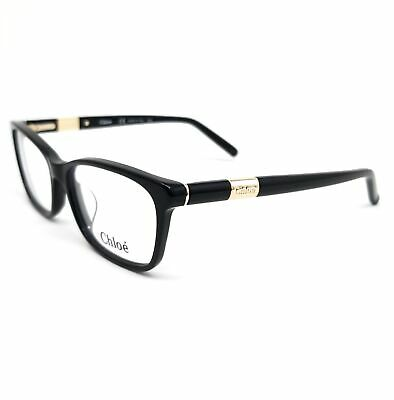 CHLOE Eyeglasses CE2628 001 Black Rectangle Women 53x15x135