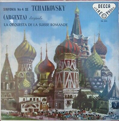 Usado, RARE SPAIN LP NM TCHAIKOVSKY ARGENTA L'ORCHESTRE DE LA SUISSE ROMANDE 4 SXL 2015 segunda mano  Castellón de la Plana