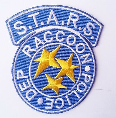 Uniform Replica Aufnäher Resident Evil Raccon Police Dep Patch