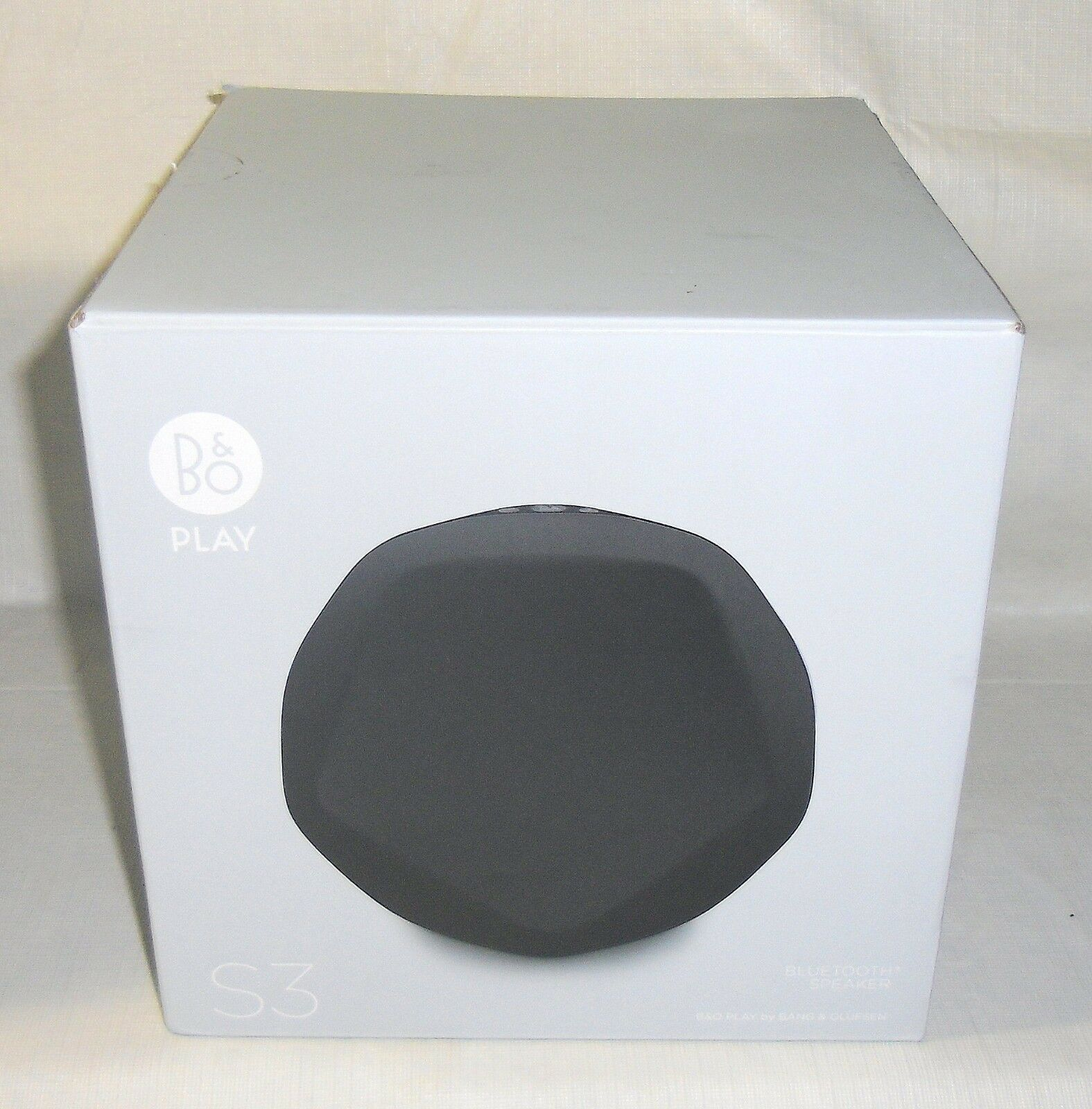 $89.95 - New B&O PLAY by Bang & Olufsen Beoplay S3 Home Wireless Bluetooth Speaker Black