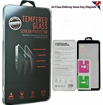 For Motorola Moto E4 Plus Clear Tempered Glass Screen Protector Guard Film UK