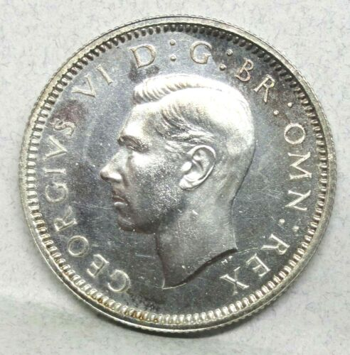 GREAT BRITAIN 1937 6 PENCE PROOF