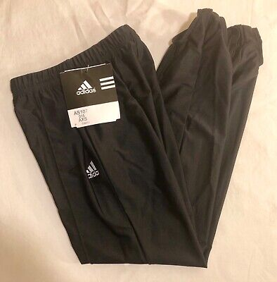 ADIDAS GK MENS X-SMALL GYMNASTICS COMPETITION STIRRUP POMMEL PANTS BLACK AXS