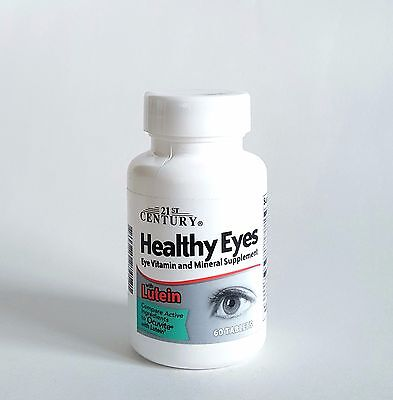 21st Century Healthy Eyes w/ Lutein (generic Ocuvite) - 60 Tablets 21st Century Healthy