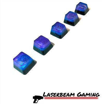 Galaxy Keycap Space Mechanical Handmade Resin Custom Artisan Switch Keycaps