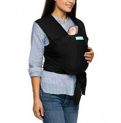 Moby Wrap Baby Carrier Infant Black Baby Sling Ideal For Baby Wearing On the Go