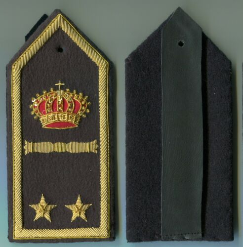 Italian Officers Lt Colonel Rank Boards of the Air Force WW2