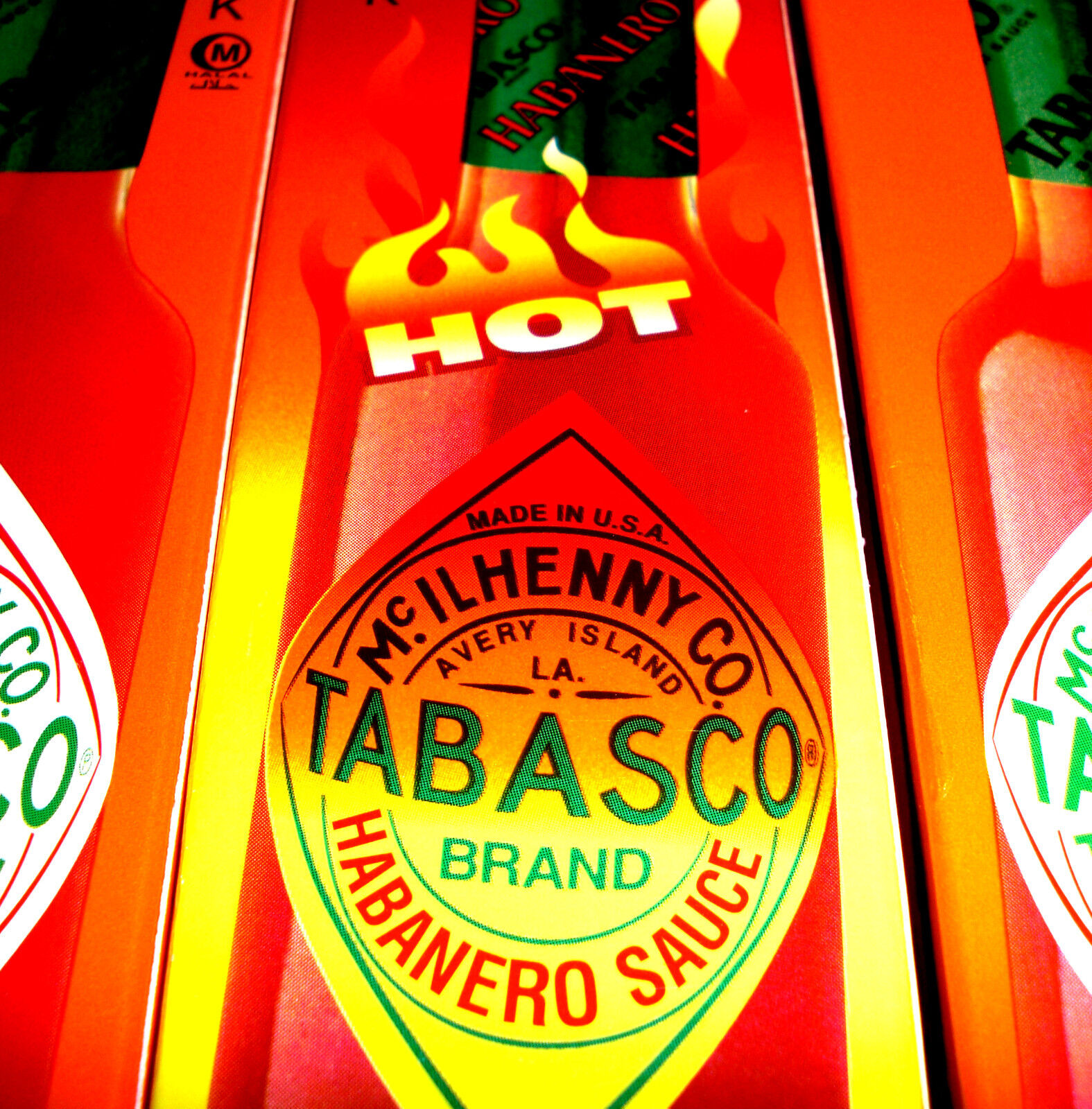 Tabasco XXL HOT Habanero Sauce 60ml US BBQ Grill Marinade