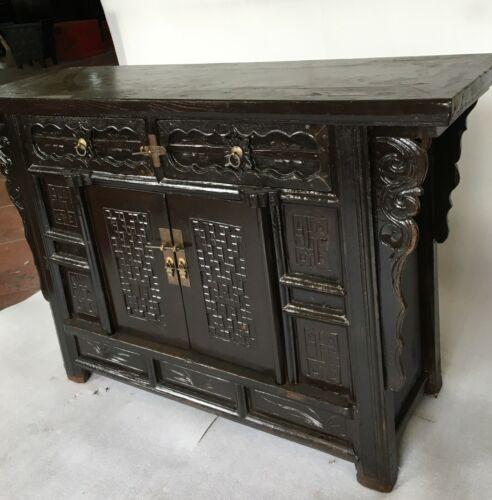 Oriental Antique Cabinet Furniture
