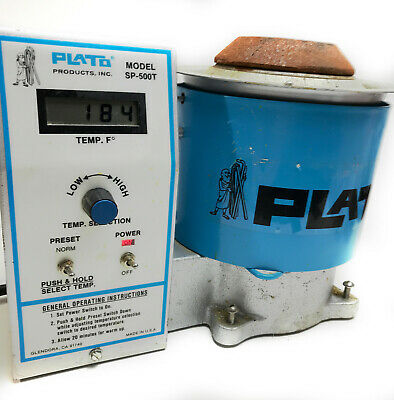 Plato Sp-500t Lead Melting Solder Pot With Lcd Display Adjustable Temperature