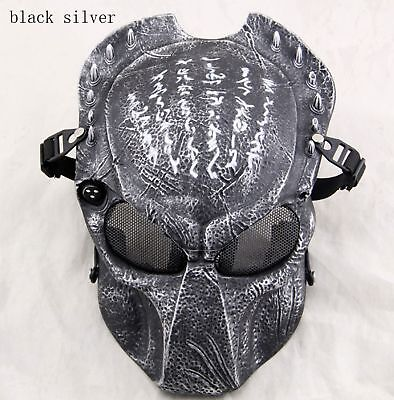 New Multicolor Military Tactical Paintball Airsoft Predator Skull Adult Mask