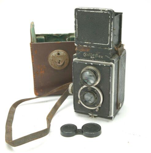 Antiques 3,8 Original Rolleiflex #59016 & FOUR Windows In Detachable Door. RARE!