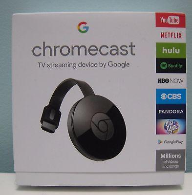 Google Chromecast  2015  Digital Hd Media Streamer  Latest Model    New In Box