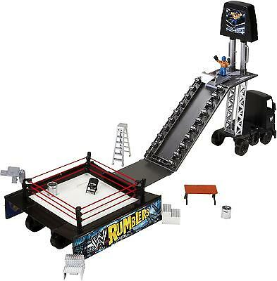 WWE ACTION RING AND ENTRANCE ARENA WITH ACCESSORIES