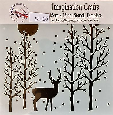Imagination Crafts The Clearing Stencil