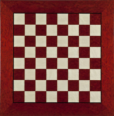 Inlaid Briarwood With High Gloss Finish Elegant Chess Board Size 20