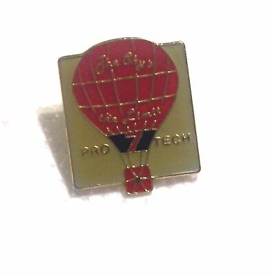 1985 PRO TECH THE SKY'S THE LIMIT BALLOON PIN
