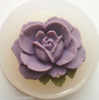 FLOWER - SILICONE MOULD - wax, resin, clay, fimo, soap, sugarcraft - MOLD