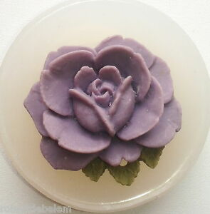 FLOWER-SILICONE-MOULD-wax-resin-clay-fimo-soap-sugarcraft-MOLD