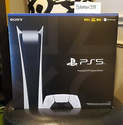 Sony Playstation 5 PS5 Digital Edition Console IN HAND Brand New