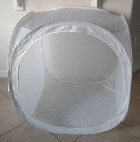 Light Tent Photo Studio LARGE Soft Box Square Cube + BACKDROP 33 INCHES