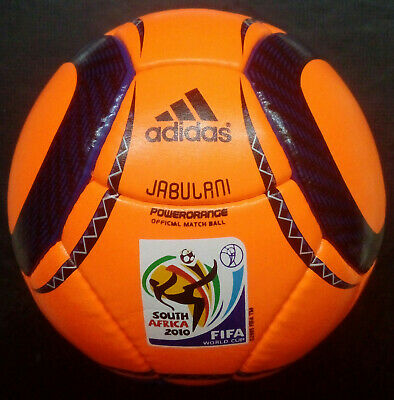 Used, Adidas Jabulani Power orange 2010 Worldcup Soccer Match Ball A+ REPLICA Size 5 for sale  Shipping to Canada
