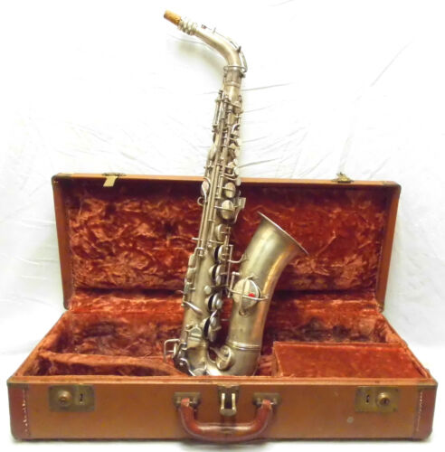 Vintage 1914 Conn Alto Saxophone in Good Structural Condition - Make an Offer!!