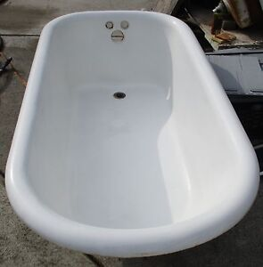 Cast Iron Clawfoot Tub Ebay