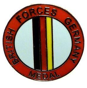BRITISH FORCES GERMANY REGIMENTAL LAPEL PIN BADGE - MEDAL