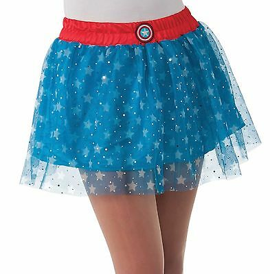 American Dream Tutu Skirt for Adults Superhero New by Rubies 820045 - Blue Tutu For Adults