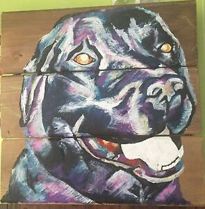 Have your puppy painted or sketched today!