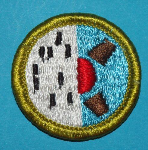 COMPUTERS TYPE H MERIT BADGE - PLASTIC BACK - NEW - BOY SCOUTS -  9654