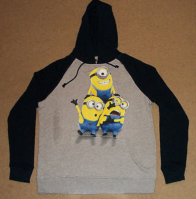 Despicable Me Minions Hoodie Sweatshirt S-2XL Officially Licensed](Minion Hoodie)