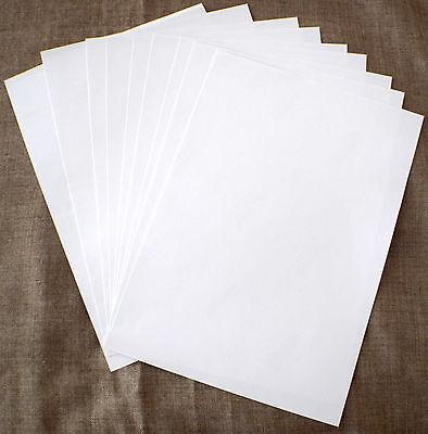 A4 White MATT Self Adhesive Sticker Paper for Inkjet & Laser Printing