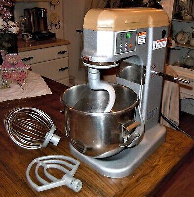 Anvil American Mix7110 10 Qt Professional Mixer Whisk-dough Hook-spatula 5 Speed