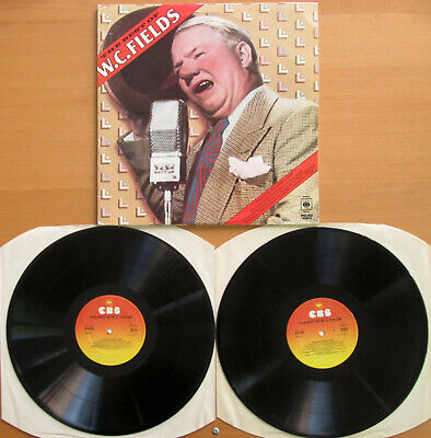 WC FIELDS The Best Of WC Fields 2xLP Gatefold NM/EX 1976 CBS
