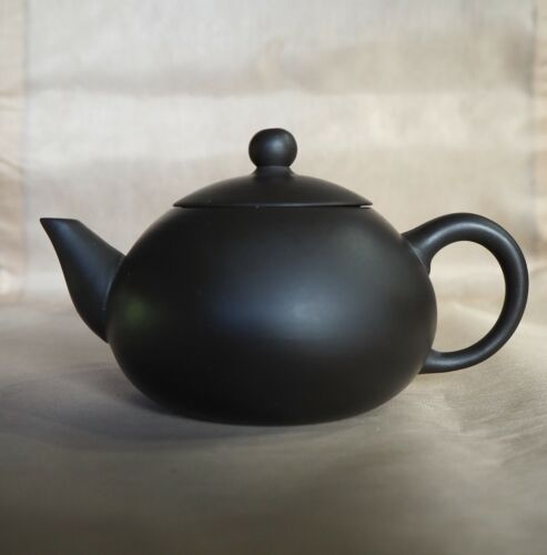 Miniature Chinese Yixing Teapot with Maker