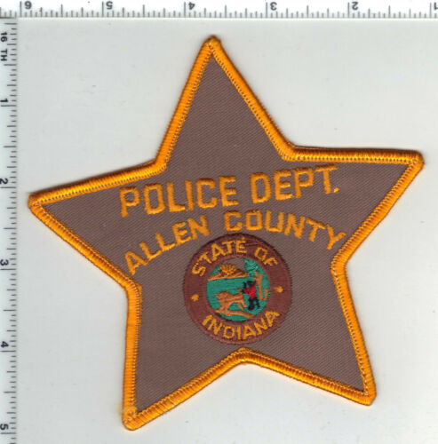 Allen County Police (Indiana) Shoulder Patch - new from the 1980s