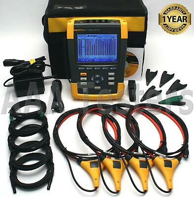 Fluke 434 Series Ii Three Phase Power Quality Analyzer Energy Meter 434-ii 2