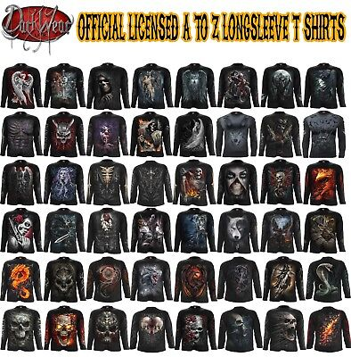 Spiral Direct Halloween costume/Reaper/Rock/Dragon/Goth/Xmas/Long Sleeve T - Costume Direct