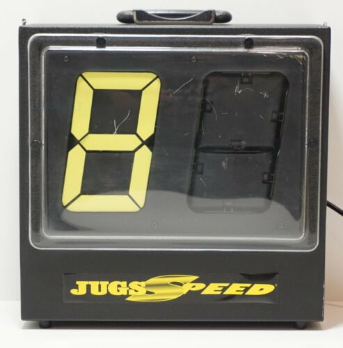 Jugs Sports 2 Digit Speed Reader Model 1027 (Yellow Display)