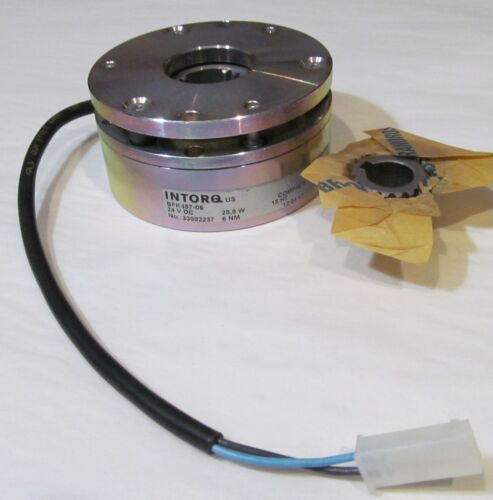 NEW INTORQ BFK457-06 SPRING APPLIED MAGNETIC BRAKE 6Nm 28.8W 24V 24 VDC