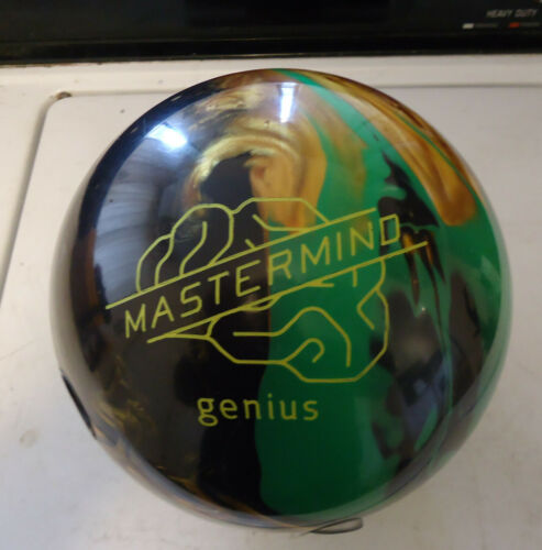 BRUNSWICK MASTERMIND GENIUS HYBRID ASYMMETRIC 14lbs BOWLING BALL MINT