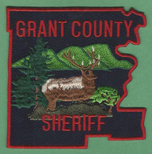 GRANT COUNTY SHERIFF OREGON SHOULDER PATCH