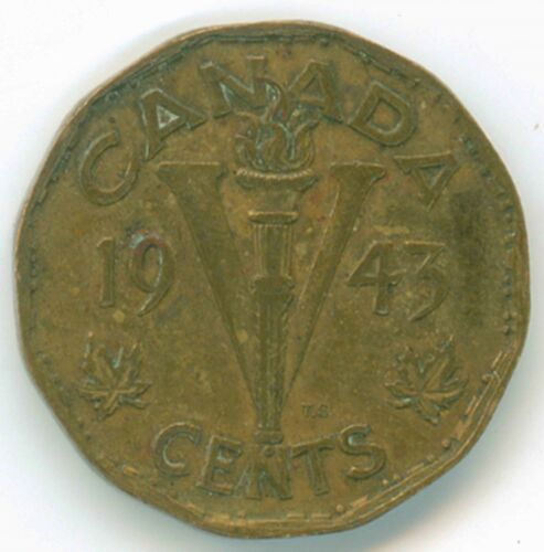 1943 Canada 5 Cents